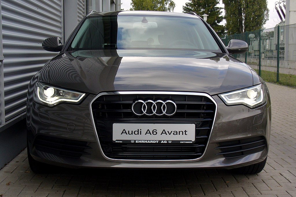 File audi a6 avant 2 0 tdi dakotagrau front jpg for Audi a6 avant interieur