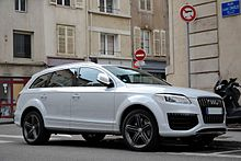 Audi Q Wikipedia - How much is an audi q7