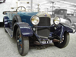 Audi Typ E von 1923, Cité de l'Automobile – Musée National – Collection Schlumpf, Mülhausen, Frankreich