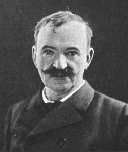 August Lindberg.