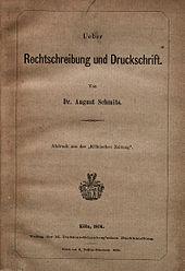Rechtschreibreform Wikipedia