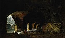 Jacques Auguste Regnier: La Voûte du quai de Gesvres