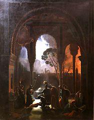 Gonzalve de Cordoue s'emparant de l' Alhambra de Grenade