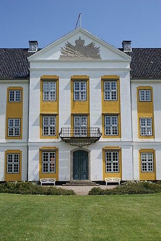 Augustenborg Palace - Facade