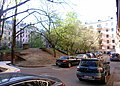 Ausekļa ielas pagalms ar bumbu patversmi. Inner Yard at Ausekļa street with bomb shelter. April, 2014 - panoramio.jpg