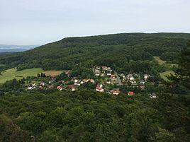 Hitzelrode, vista do ponto de vista Pferdeloch