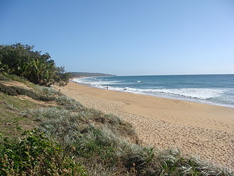 Agnes Water, Queensland - Agnes Water beach, 2009