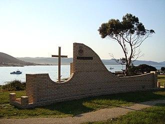 Bicheno, Tasmania - Merchant Navy memorial