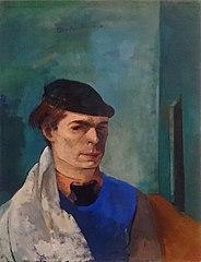 Autoportrait en habit de peintre