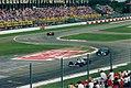 Ayrton Senna leading the 1994 San Marino Grand Prix.jpg