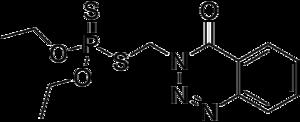 Azinphos-ethyl - Image: Azinphos ethyl