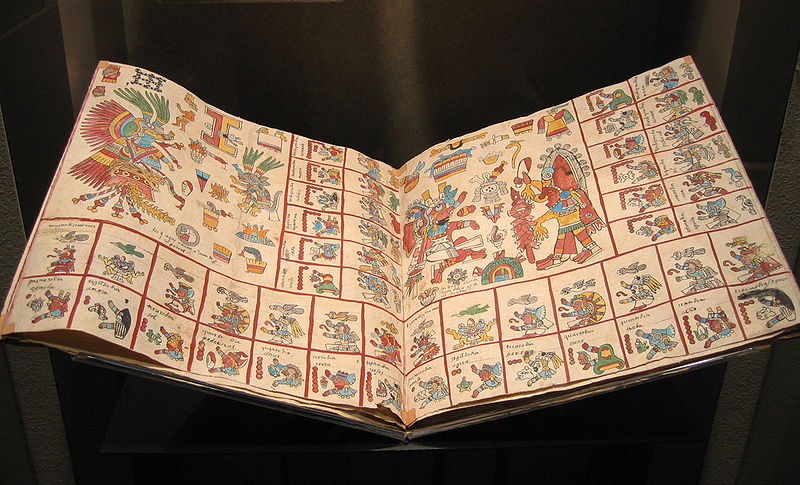 ملف:Aztec codex replica.jpg
