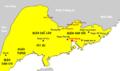 Bản đồ các quận phía Đông Bắc nước Nam Việt.png
