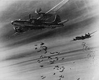 B-29による絨毯爆撃