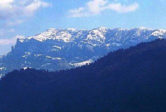 Sierra de Segura - View of Las Banderillas peak in Sierra de Segura