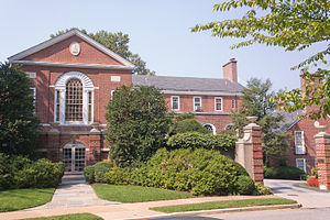 Roland Park, Baltimore - Baltimore Country Club, in Roland Park
