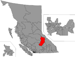 Kamloops-North Thompson - Image: BC 2015 Kamloops North Thompson