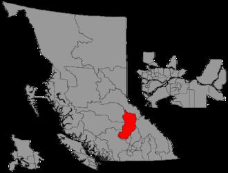 Kamloops-North Thompson - Image: BC 2015 Kamloops North Thompson