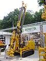 BERETTA T44 drilling rig at Construct Expo Utilaje 2010.JPG