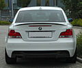 BMW 123d Coupé Sportpaket BMW Performance (E82) rear 20100914.jpg