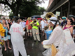 "New Orleans. ""BP Oil Flood"" Protest,..."