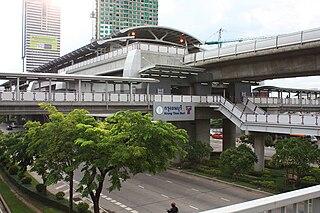 Krung Thon Buri BTS station