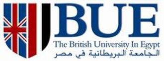 British University in Egypt - Image: BUE final logo
