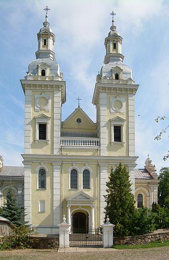 Šeduva - Image: BZN Seduva church front 1