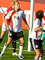 Babett Peter (cropped from Euro 2009 - Germany-Norway - Goal Scrum 239).jpg