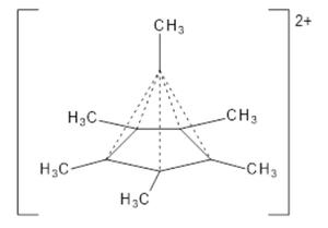 Steven Bachrach - Image: Bachrach image of hexamethylbenzene dication