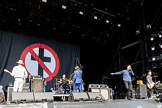Bad Religion - Image: Bad Religion 2018154162111 2018 06 03 Rock am Ring 5DS R 0059 5DSR6379