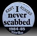 Badge, UK miners' strike (1984–85) J3.jpg