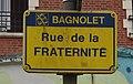 Bagnolet - Rue de la Fraternité (plaque).jpg