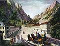 Baile Herculane road 1824.jpg