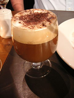 Liqueur coffee Coffee-based cocktail