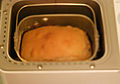 Baked loaf in Bread Machine (2657934149).jpg