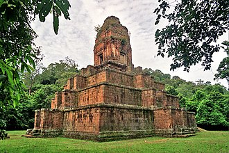Khmer Empire - Temple and mausoleum dedicated to King Yasovarman