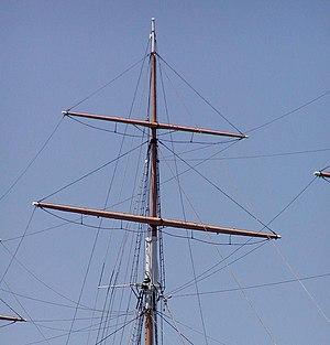 Mast (sailing) - Main topgallant mast