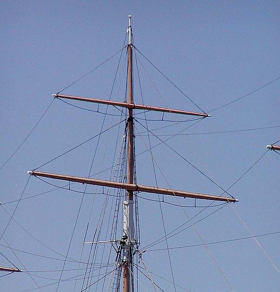File:Balclutha main topgallant mast.jpg
