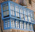 Balcon tipico de hace bastantes años, y muy buena conservacion en buñuel.JPG