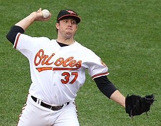 Jeremy Accardo - Image: Baltimore Orioles relief pitcher Jeremy Accardo (37)