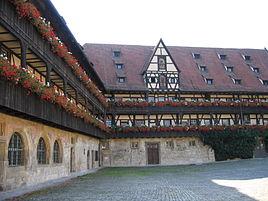 Alte Hofhaltung in Bamberg.