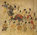 Ban Dainagon Ekotoba - people in arms B.jpg