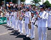 Banda Municipal de San Carlos en celebración del Día de la Cultura (1286733000) 2010-10-10 Quesada, Alajuela, Costa Rica.jpg