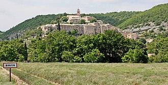 Banon, Alpes-de-Haute-Provence - The village of Banon