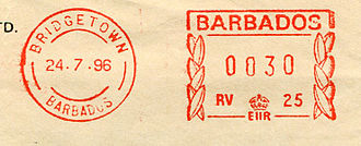 Barbados stamp type B6.jpg