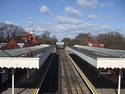 Barkingside station high northbound