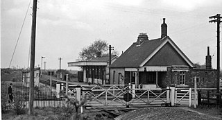 Barnwell railway station Former railway station in Northamptonshire, England