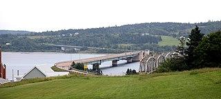 Barra Strait Bridge Canadian bascule road bridge
