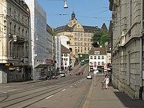 Basel, straatzicht Steinenberg foto1 2013-07-27 09.53.jpg